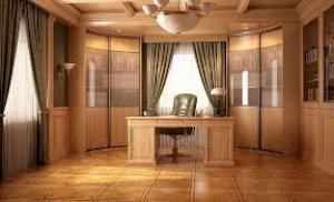 Шкаф для офиса в классическом стиле