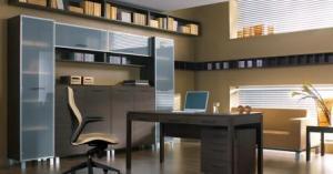Модульный шкаф для офиса